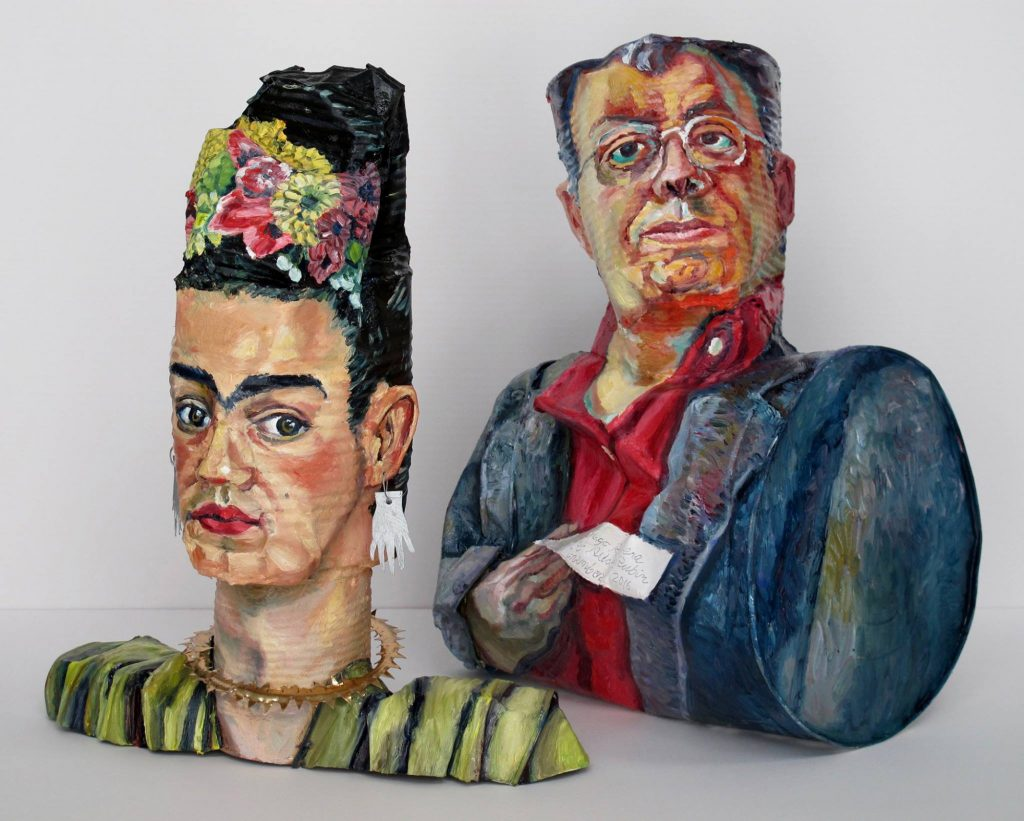 <a href=http://feedproxy.google.com/~r/colossal/~3/QuUElDdICAo/ target=_blank >Tin Cans Transformed into Famous Art Historical Self-Portraits by Allan Rubin</a>