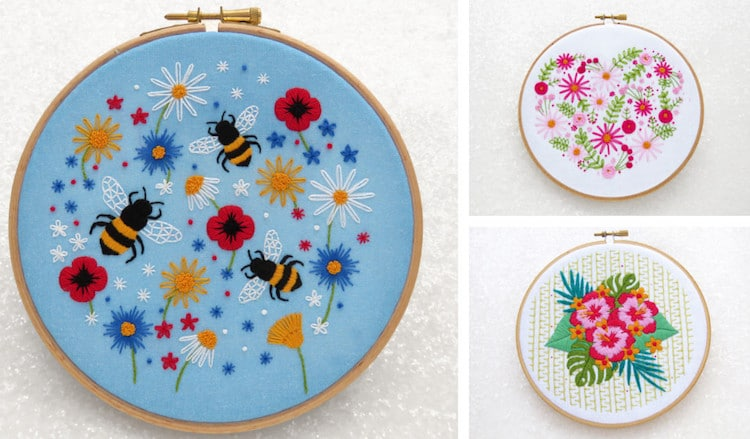 <a href=https://mymodernmet.com/stamped-embroidery-kits/ target=_blank >These Summery Stamped Embroidery Kits Will Have You Buzzing to Start Sewing</a>